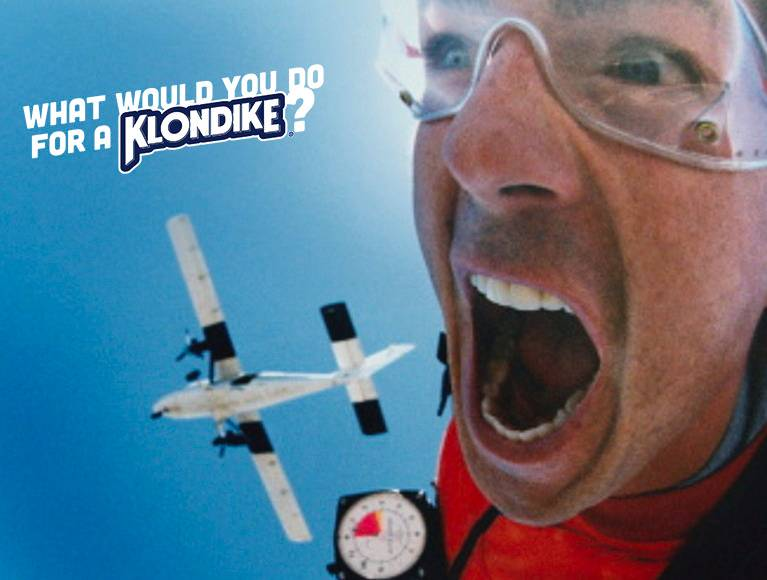 What would you do for a Klondike® Bar?