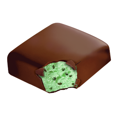 Mint Chocolate Chip Ice Cream Bar