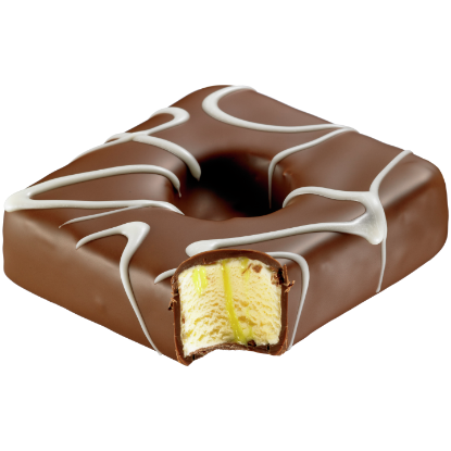 Boston Cream Ice Cream Donut
